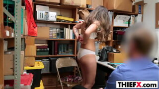 ShopLyfter blonde get about to get big cock