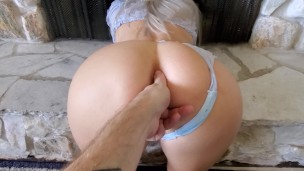 Stuck Freeuse Wife ass up fuck by hubby friend